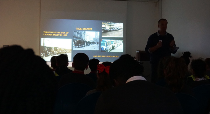 workshop on the history of the London cabbie